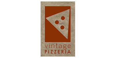 vintage pizzeria logo